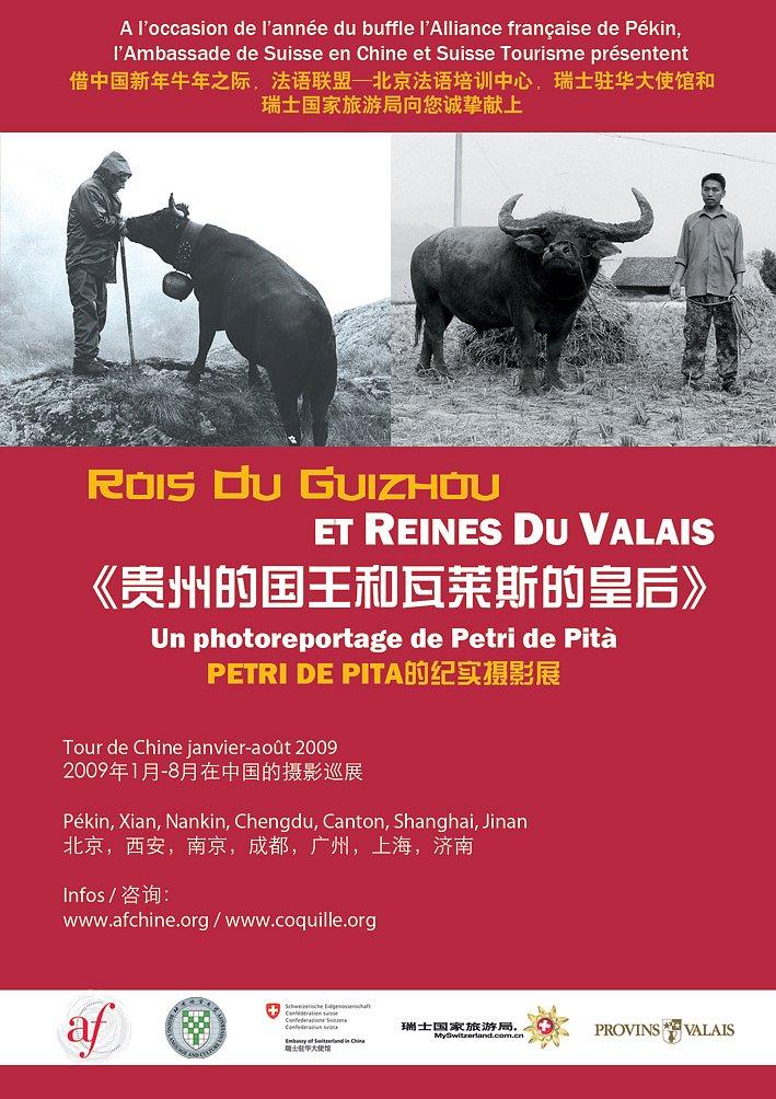 Rois du Guizhou et Reines du Valais